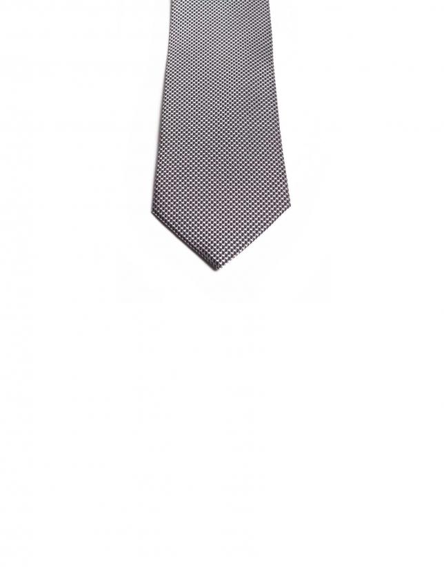 Cravate à micromotif fantaisie