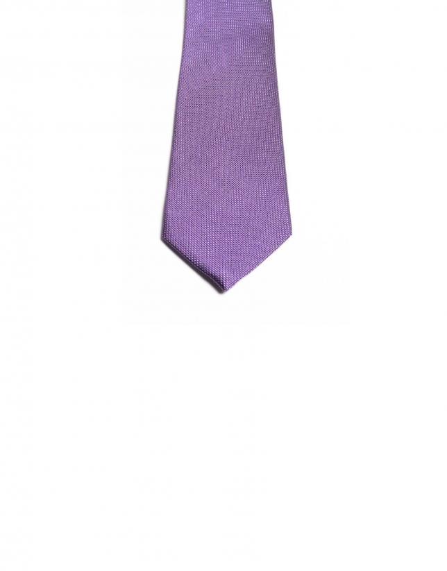 Cravate à micro pois
