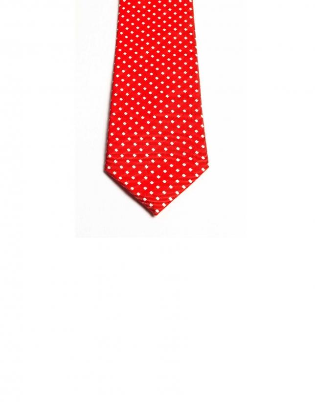Cravate à carreaux