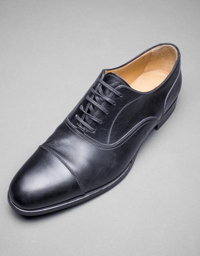 Chaussure ville noire à lacet