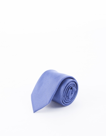 Corbata microdibujo en tonos azules
