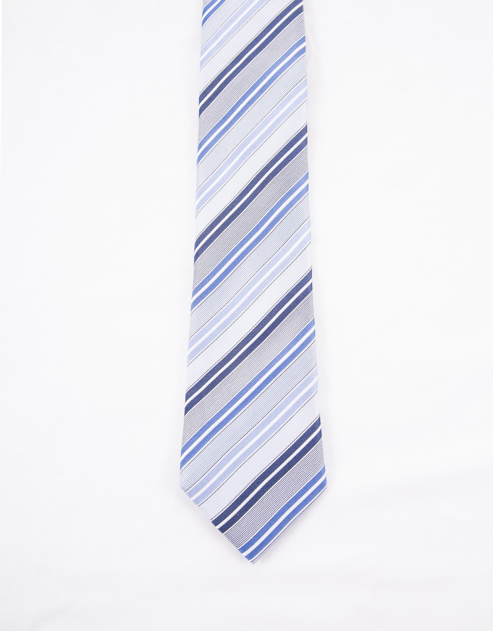 Corbata rayas tonos azules - Tonos azules ...