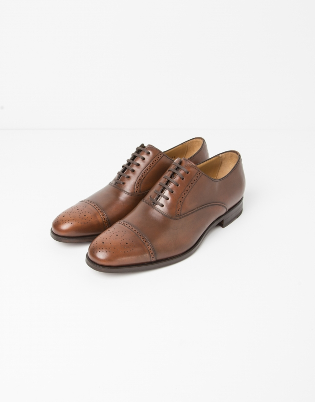 Chaussure ville Oxford marron