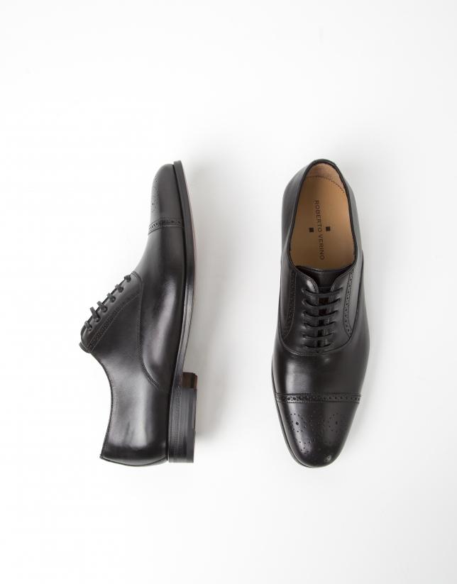 Zapato vestir Oxford negro