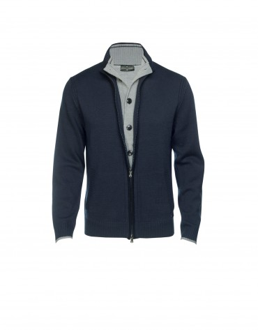 Blue  blend cardigan