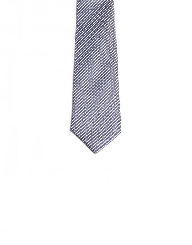 Corbata franjas