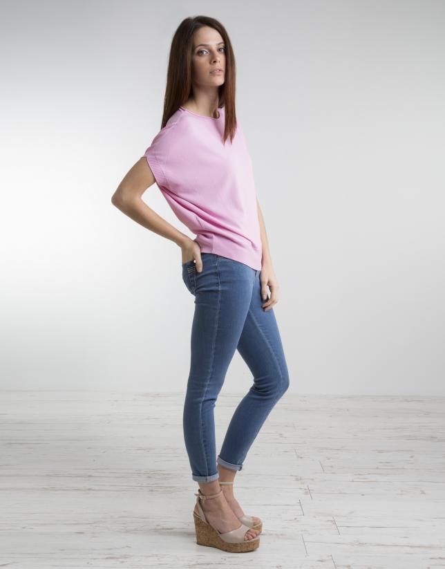 Pink loose sweater