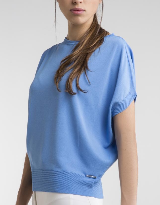 Jersey fluido azul