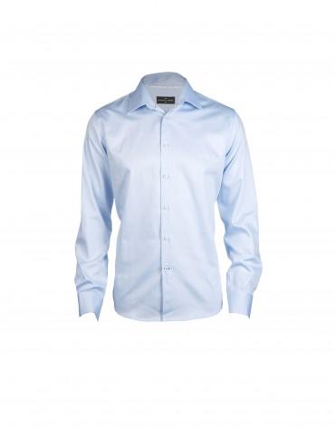 Camisa vestir azul