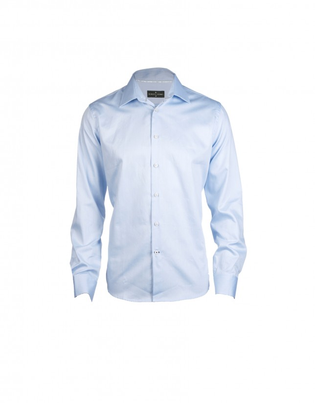 Blue formal shirt