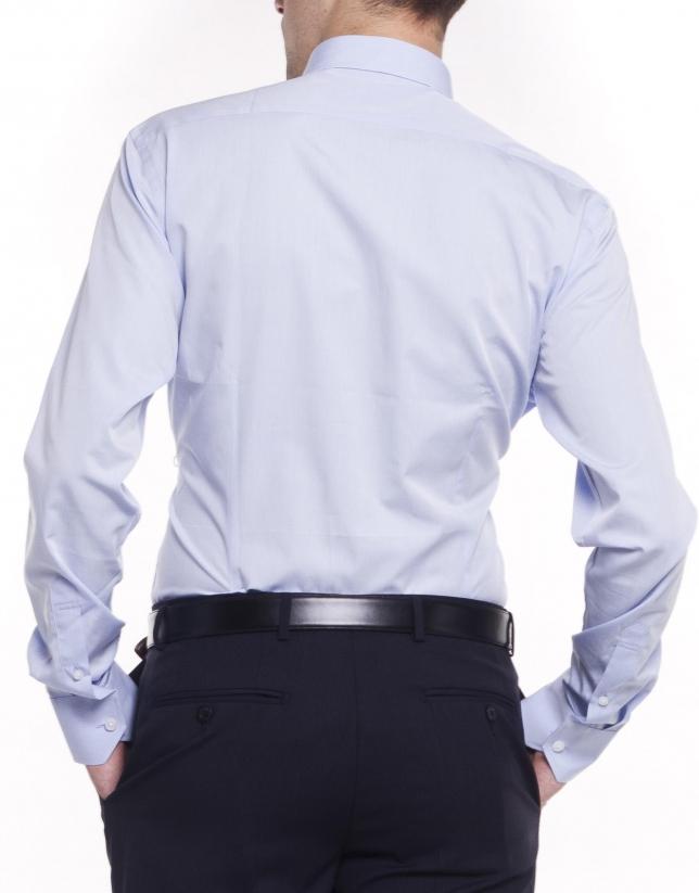 Camisa vestir espiguilla