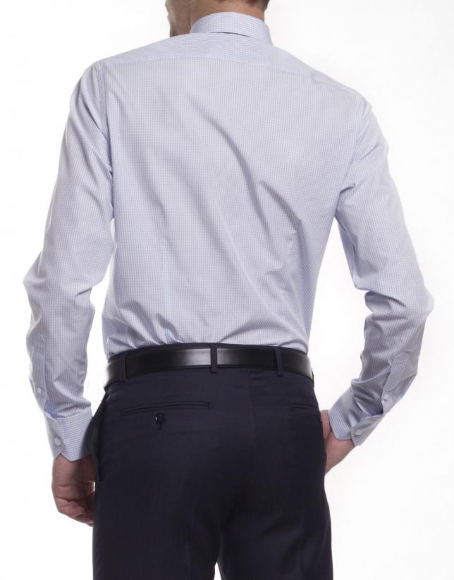 Camisa vestir cuadros