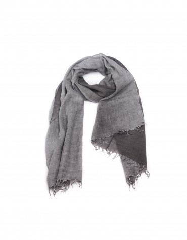 Viscose/cashmere shawl