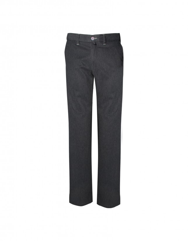 Grey semi-formal trousers