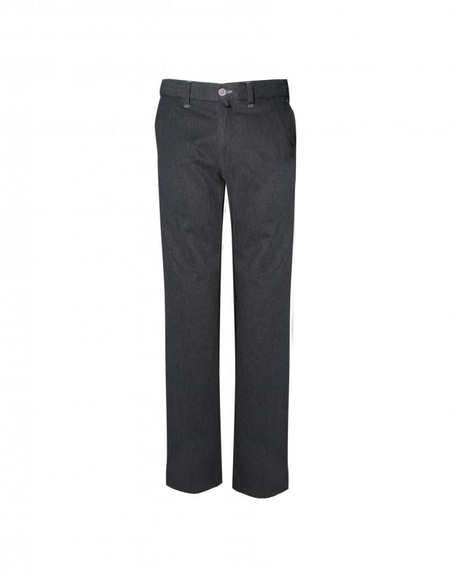 Pantalón semisport gris