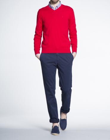 Jersey rojo punto básico
