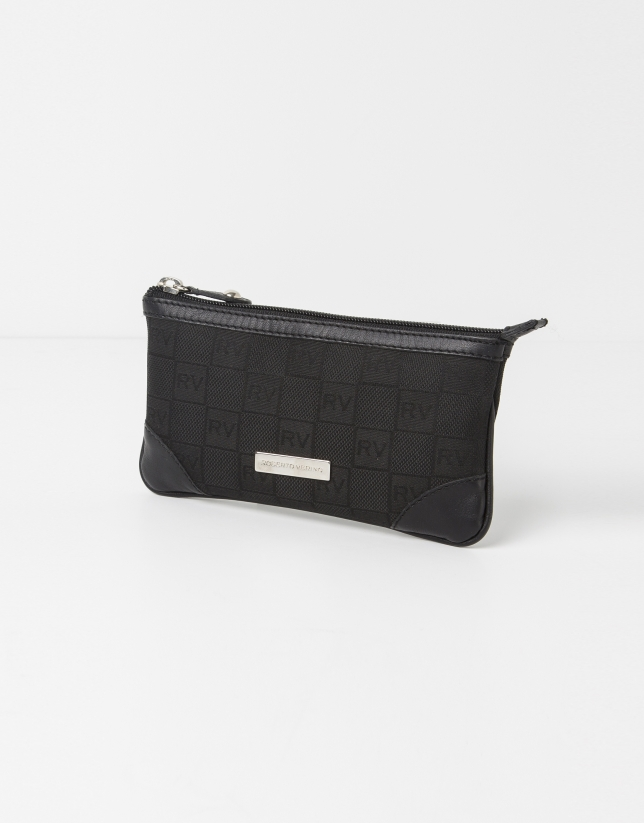 Black jaquard RV case