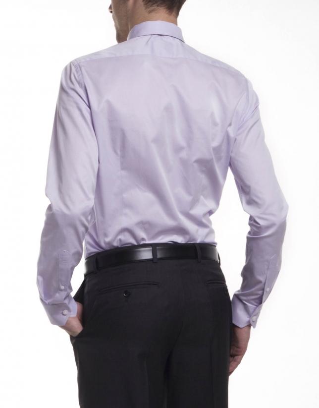 Camisa vestir lisa