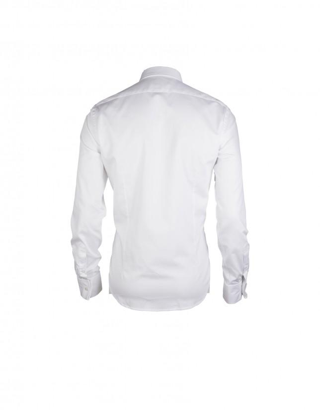 Camisa vestir blanco