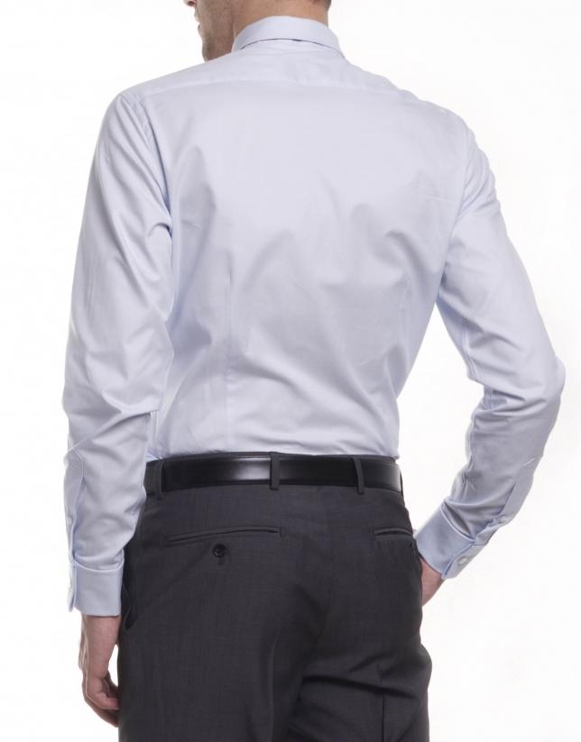 Chemise costume à micromotif