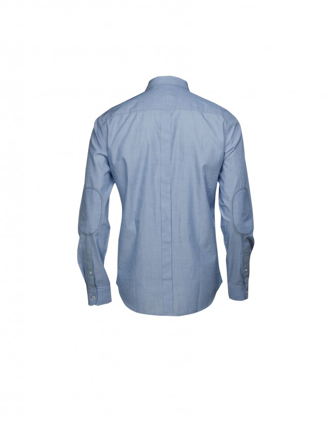 Camisa sport azul