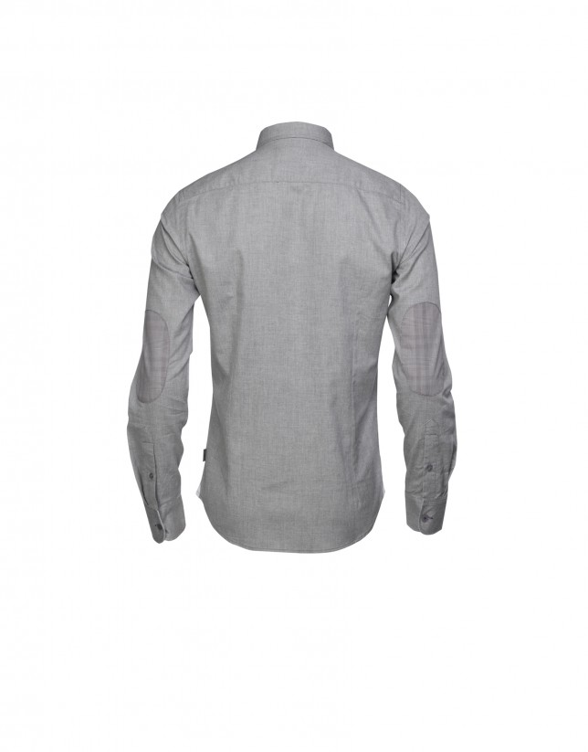 Mix grey  casual shirt