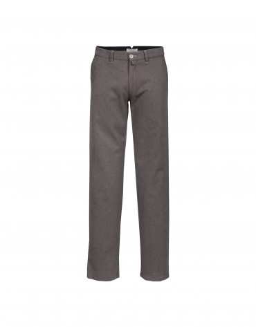 Washed  khaki trousers