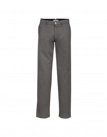 Pantalón lavado en gris