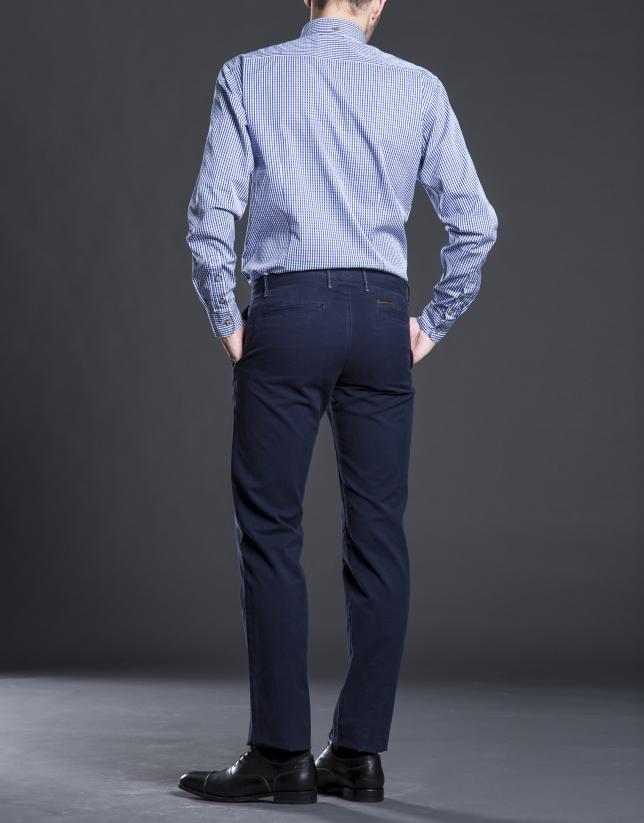 Pantalón sport algodón marino