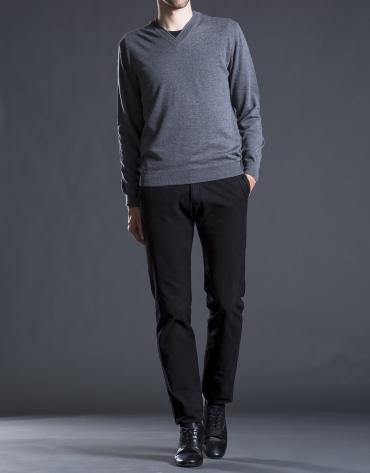 Pantalón sport algodón negro
