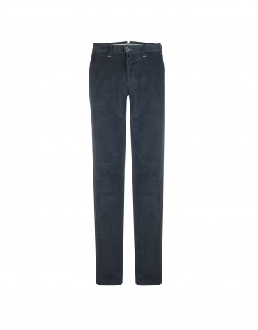 Navy ottoman semi-formal trousers