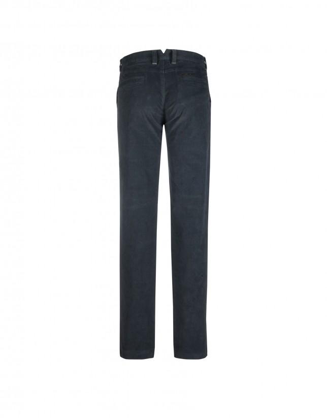Pantalón semisport azul marino