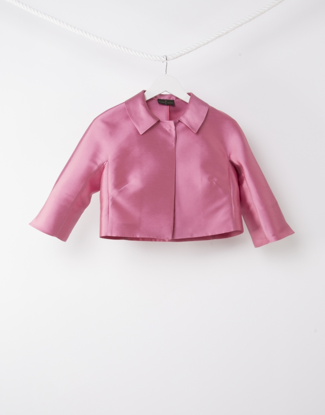 Short pink jacket - Woman | Roberto Verino