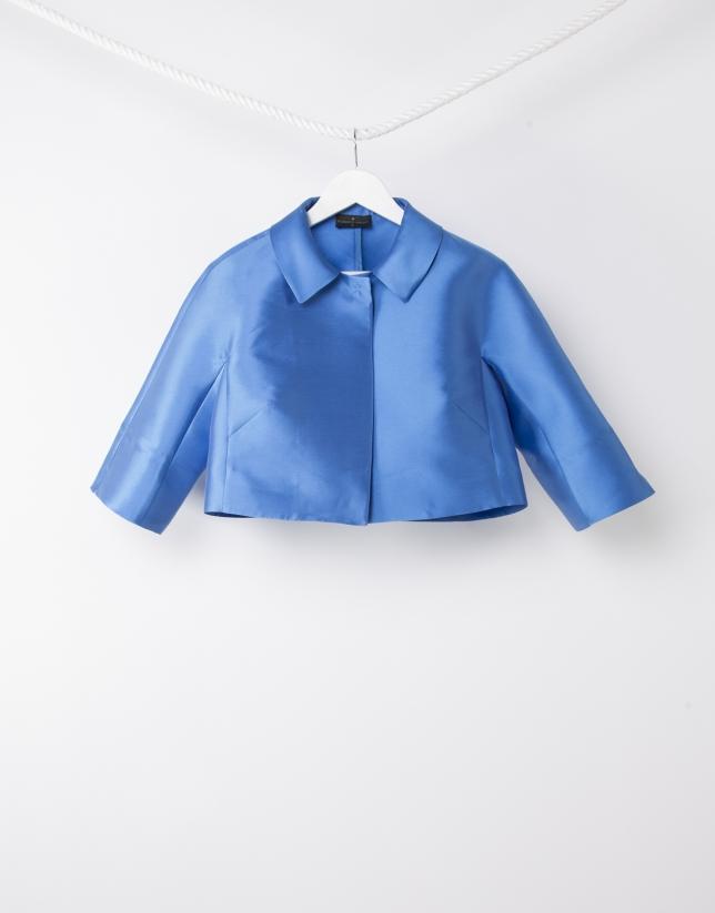 Chaqueta corta azul