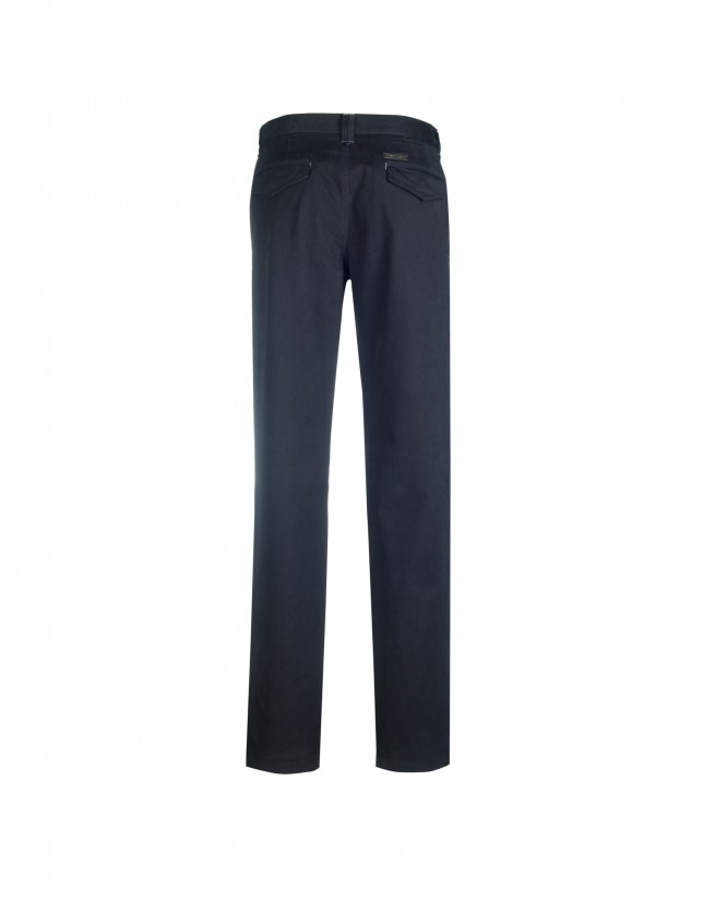 Navy semi-formal trousers