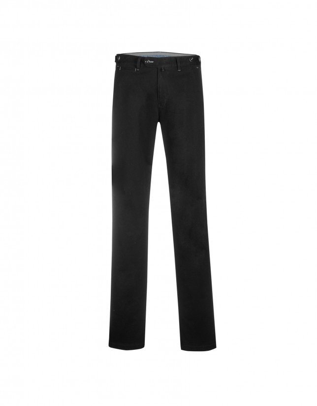 Black semi-formal trousers