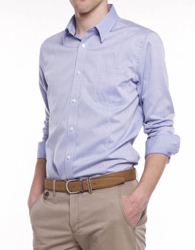 Camisa sport lisa
