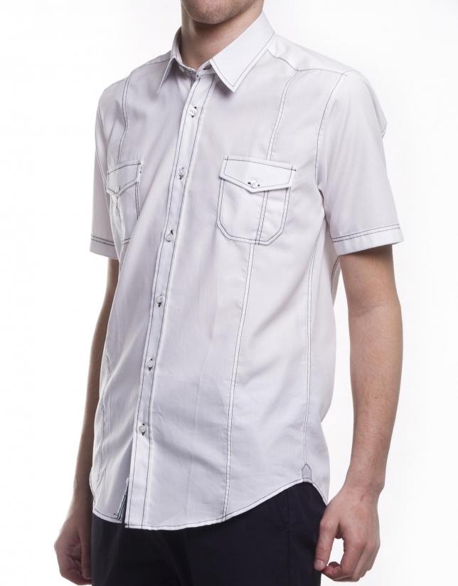 Camisa sport Oxford