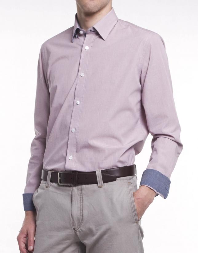 Casual micro-design shirt