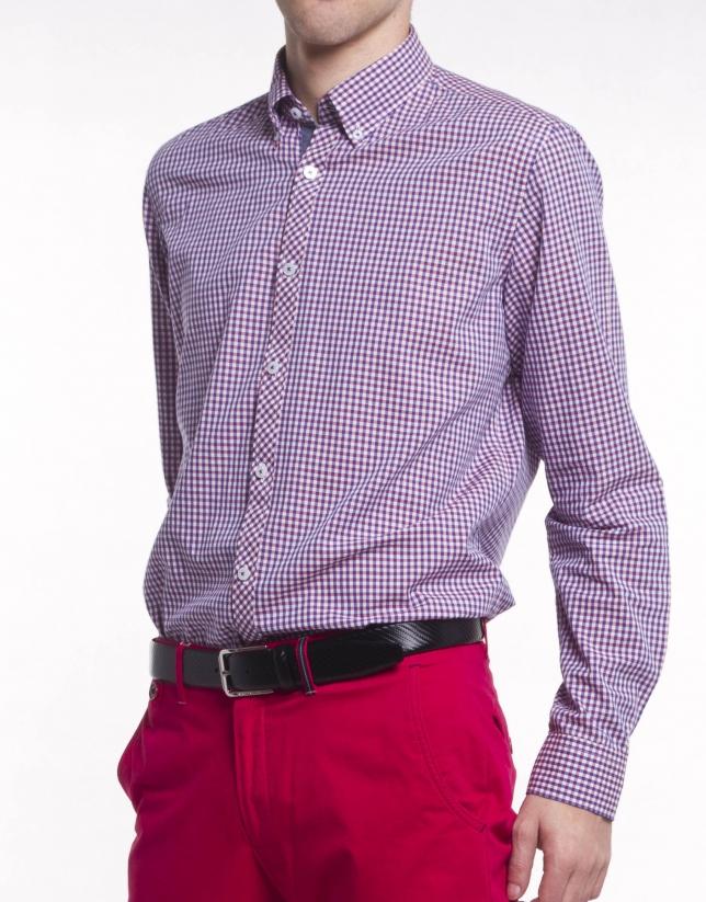Camisa sport cuadro Vichy