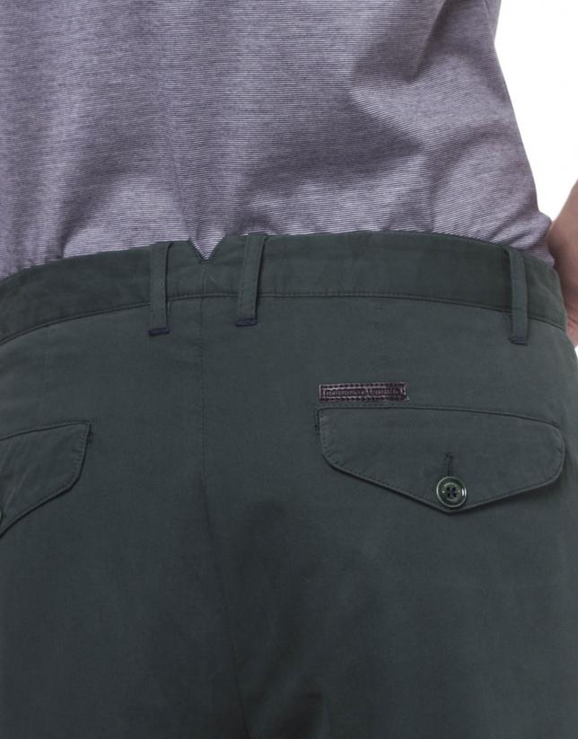 Pantalon ville coton