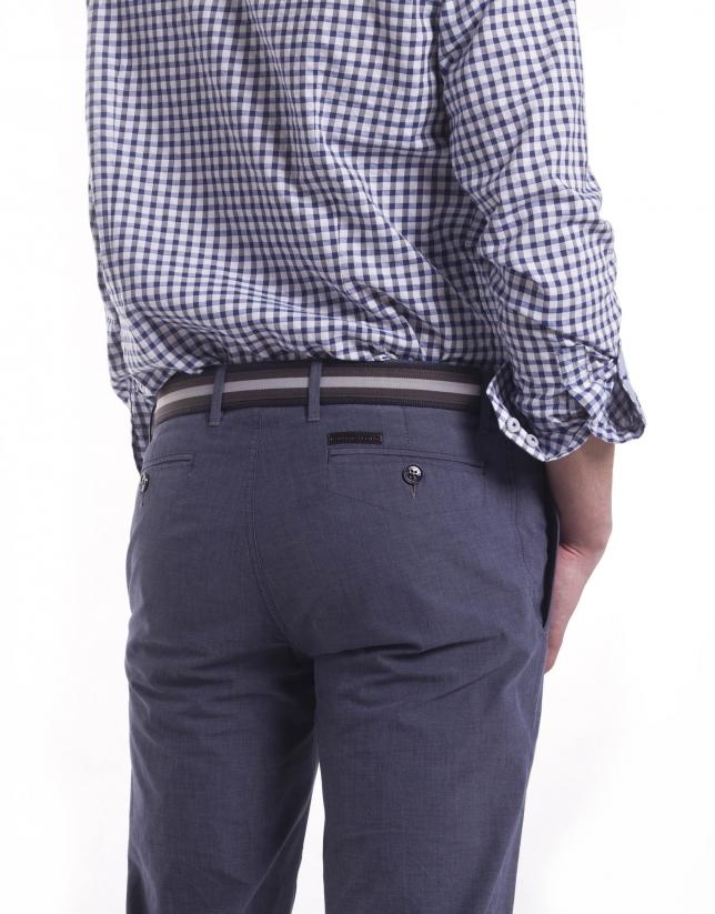 Pantalón sport microdibujo