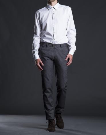 White Oxford sports shirt