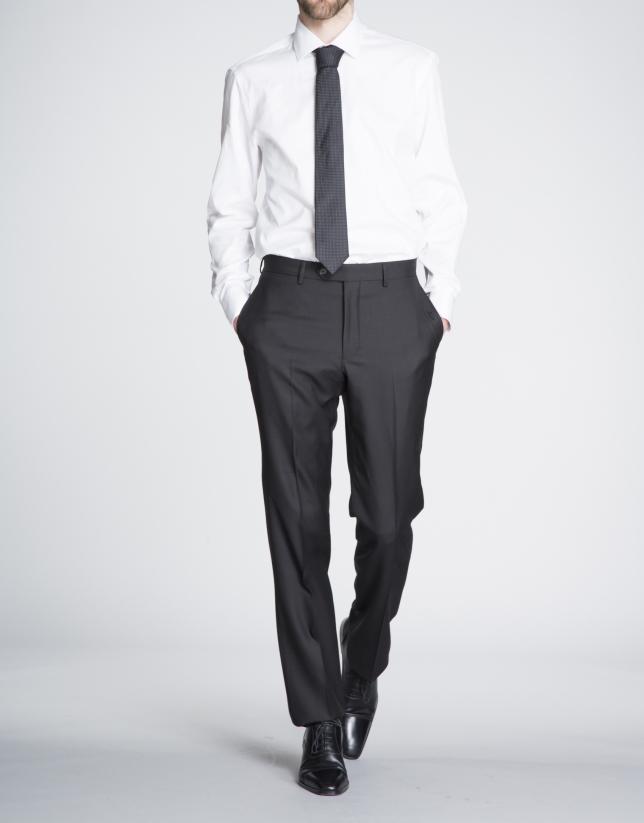 White Oxford dress shirt