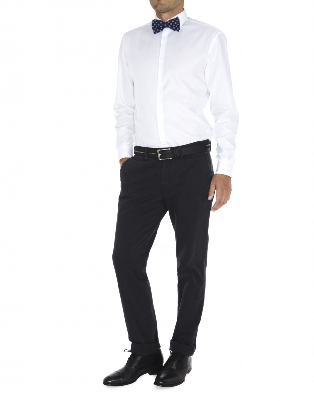 camisa vestir microestructura