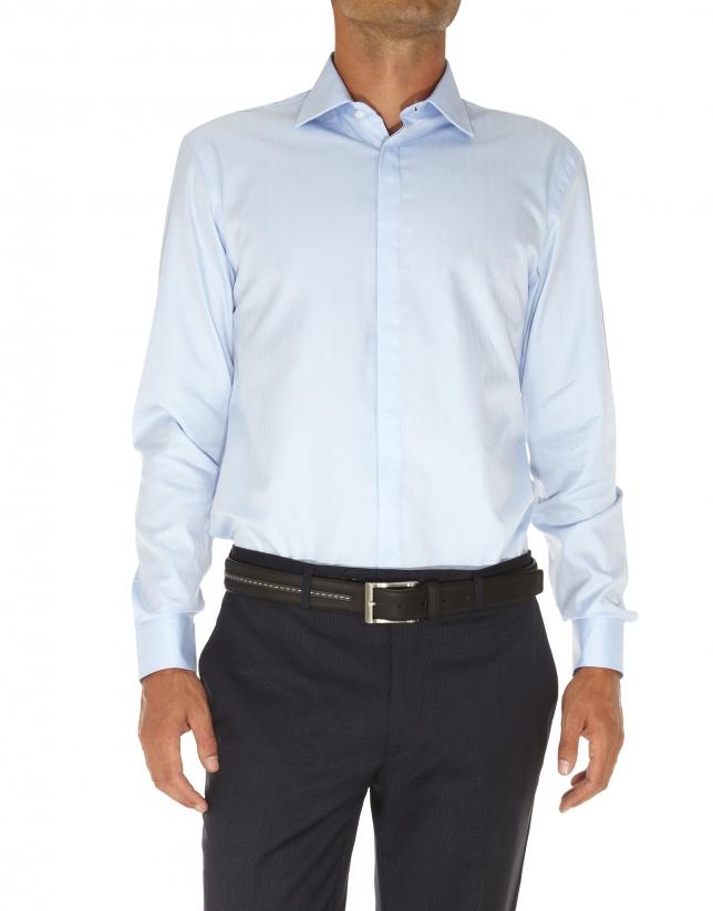 camisa vestir espiga
