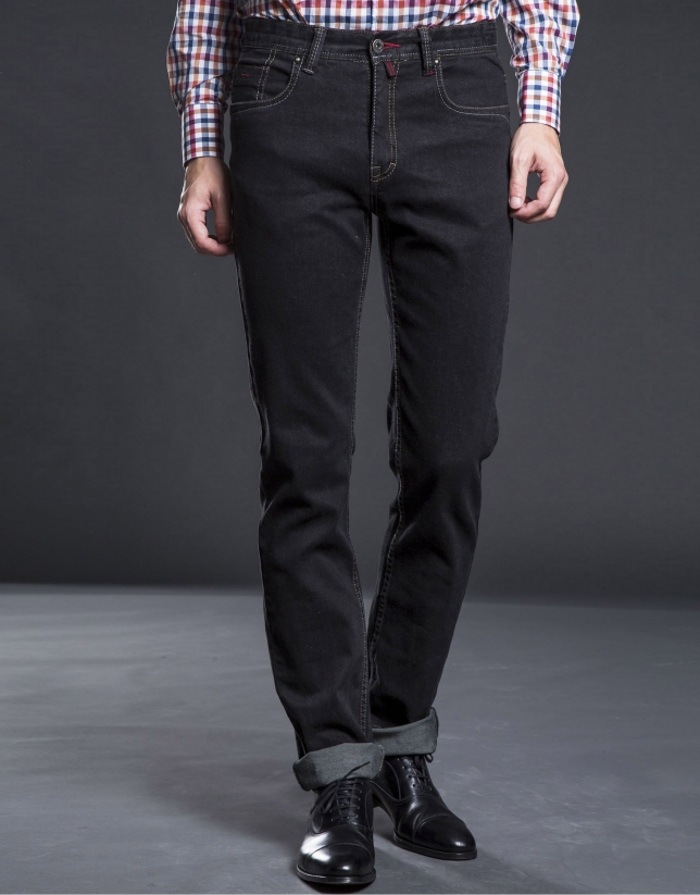 Slim fit gray jeans