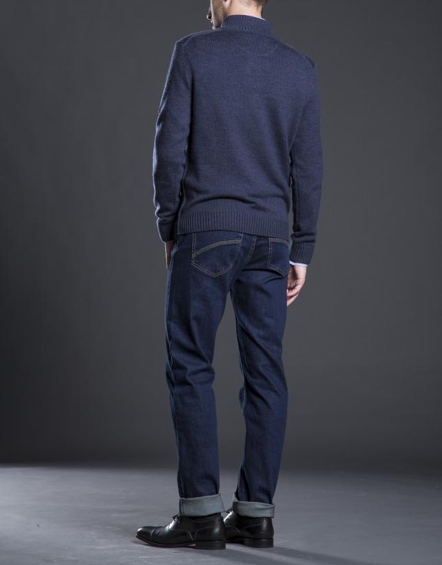 Pantalón jeans azul slim