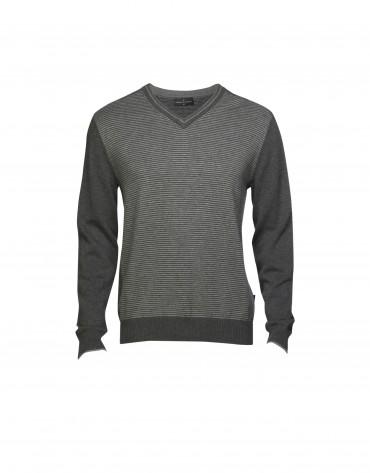 Jersey  lana y cashmere de gris