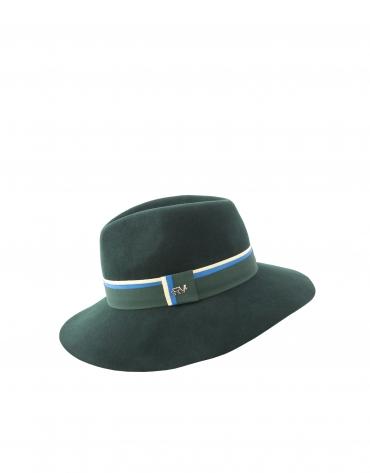 Chapeau en feutre vert
